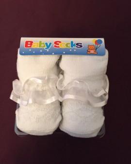 Baby Christening Socks