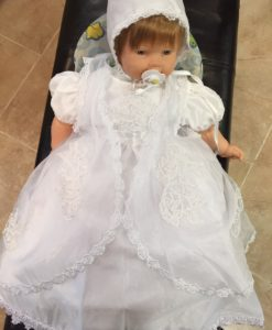 Detailed Christening Gown