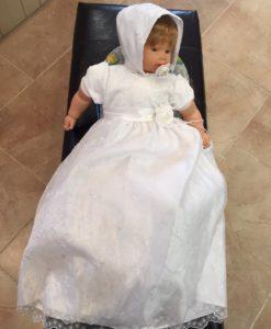 White Christening Gown