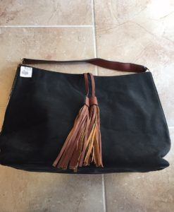 Suede Oversized Bag