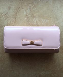 Bow Clutch Pink